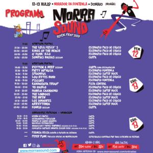 programa morrasound rock fest 2019